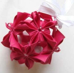 origami-magenta-ornament