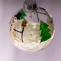 Alana Snowman Ornament