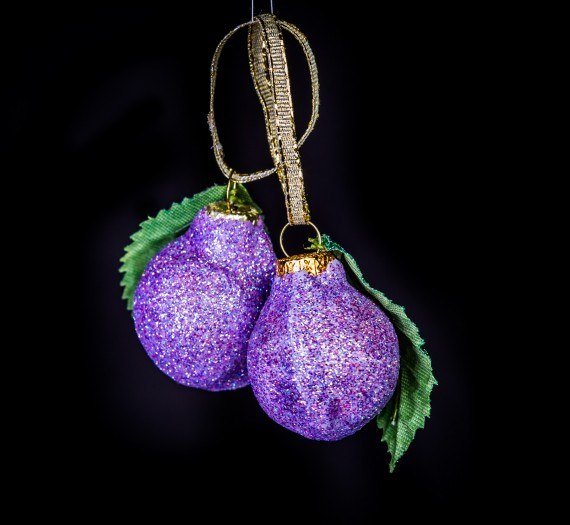 Sugar Plum Ornaments