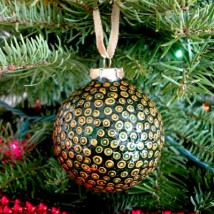 Julie Spotted Dot Ornament