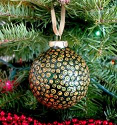 Julie Spotted Dot Ornament