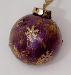 Anna Gold Snowflake Ornaments
