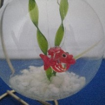 Fish Bowl Ornament