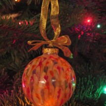Kristi Rainbow Drip Ornament