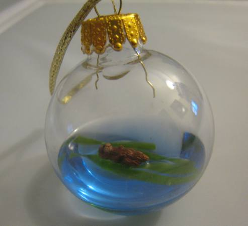 Sea Otter Christmas Ornament
