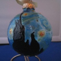 Starry Starry Night Ornament