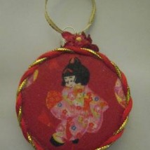 Japanese Girls Ornament