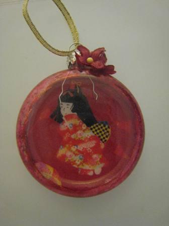 Flat Christmas Ornaments