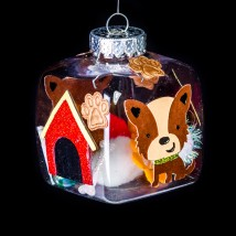 Critter Cube Ornaments
