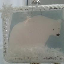 Polar Bear Frame Ornament